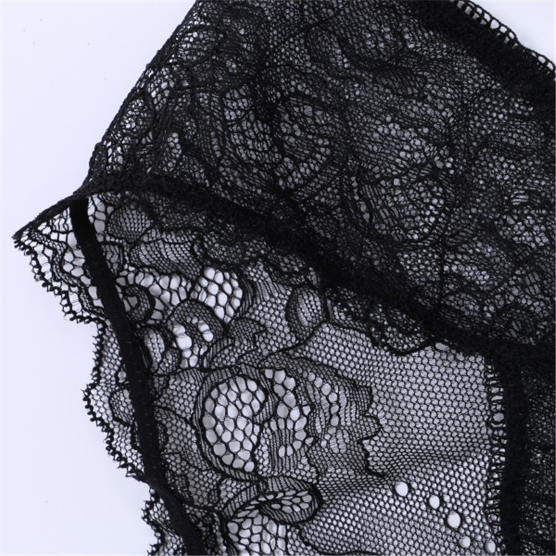 8a6cdf0a4c Sexy Women Embroidery Floral lace Sheer Thongs Panty Lingerie Underwear Bra  Set