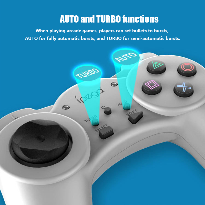 Image 2 - PSmini mini game console gamepad with Turbo combo function gamepad for PSmini-in Gamepads from Consumer Electronics