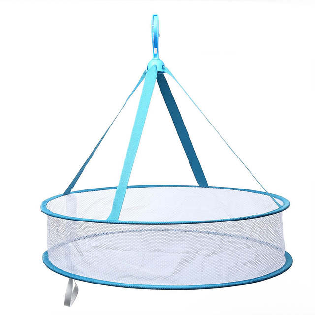 Online Shop Large Circular Clothes Drying Rack Hanging Clothes Mesh