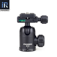 INNOREL B32 Ball Head Tripod Flexible Ballhead with 50mm Quick Release Plate for Camera Tripod Photography Panoramic Photo