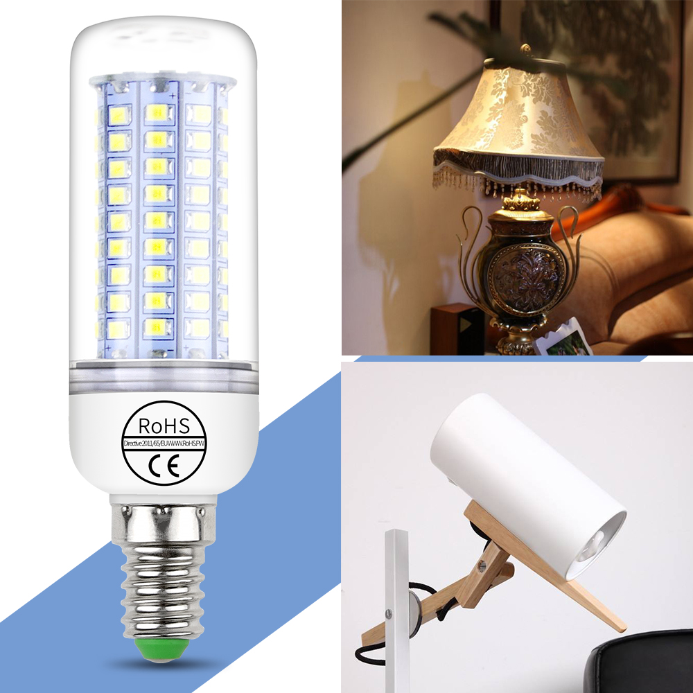 220V LED Light Candle Lamp Energy Saving LED E27 Corn Bulb 5W 7W 9W 12W 15W 18W 20W Lamps For Living Room Kitchen 2835 SMD Ampul стоимость