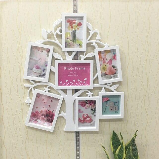 2016 nueva moda Jumbo Family Love Tree foto combinación pared ...