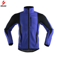 Multifunction Thermal Sport Jacket Windproof Skiing Cycling Bike Bicycle Clothing Reflective Rainproof Winter Cycling Jacket Men