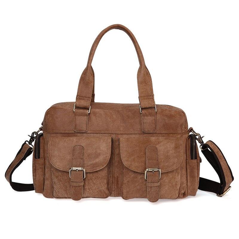 Retro Leather Handbags Large-Capacity Handbag Fashion Casual Travel Bag Ladies Shoulder Bag Messenger Bag Head Layer Leather BagRetro Leather Handbags Large-Capacity Handbag Fashion Casual Travel Bag Ladies Shoulder Bag Messenger Bag Head Layer Leather Bag