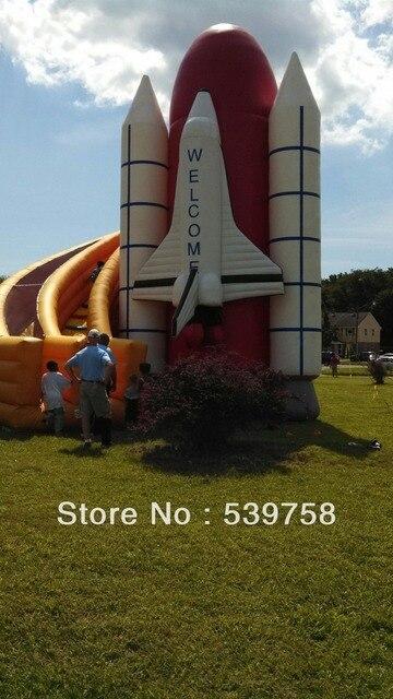 Завод прямого надувной батут, надувные горки, ракетно слайд.