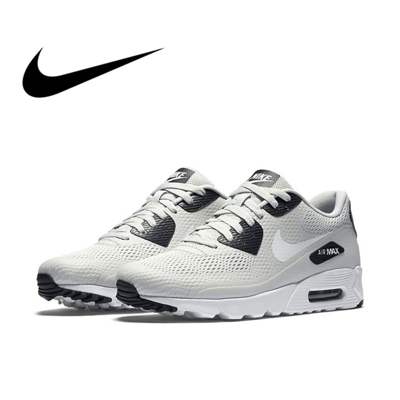 Original Authentic Nike AIR MAX 90 ULTRA Men's Breathable Running Shoes Shockproof Fashion Athletic Designer Footwear 819474