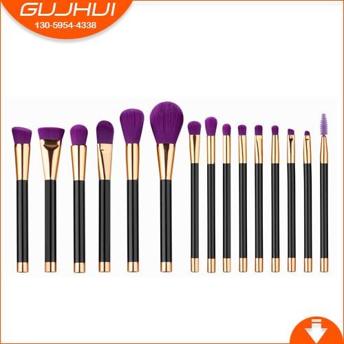 15 Makeup Brush Sets, Beauty Tools, Cosmetics, Powder Brush, Blush Brush, GUJHUI Rhyme 7 unicorn makeup brush sets beauty tools new sets sweeping new gujhui rhyme