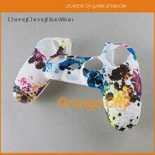保護落書きシリコーンスリーブ皮膚グリップカバーケースデュアル4プレイステーション4 PS4プロスリムコントローラ