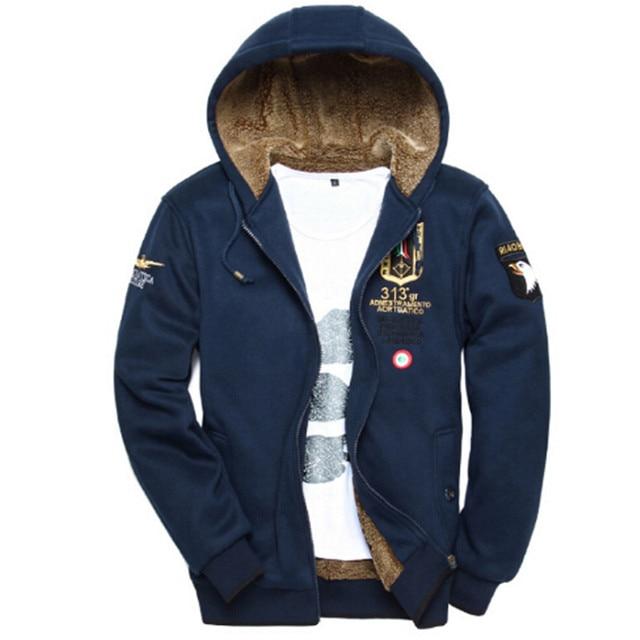 Heren Hoodie Vest.3xl Wol Warme Winterjassen Heren Hoodies En Sweatshirts Vest Jassen