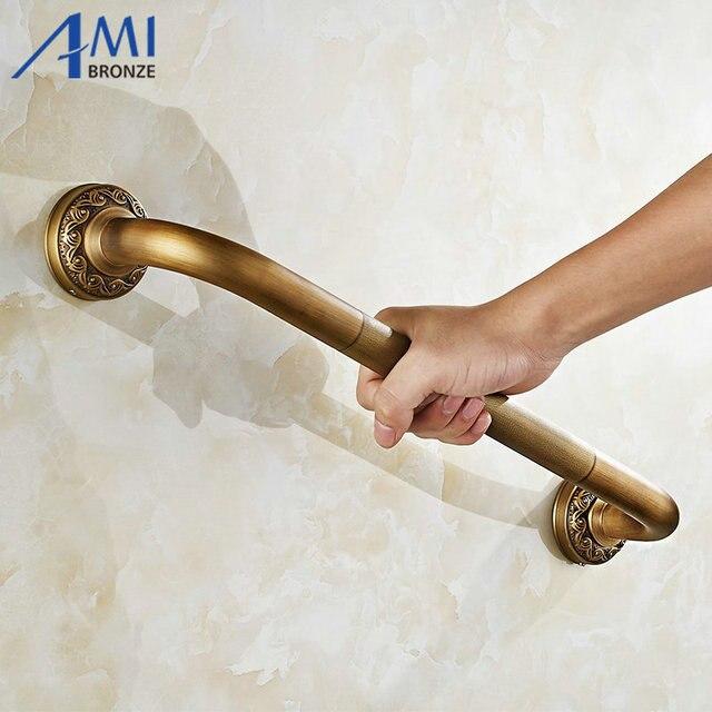 Antique Brushed Bathtub Grab Bars Handrails 304 Stainless Steel