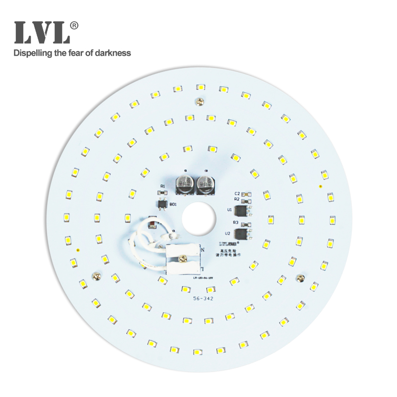 Ceiling light Accessories 10W LED plate ceiling light disc 84pcs Led chip Replace Ceilinglight Accessories bed room led lamp