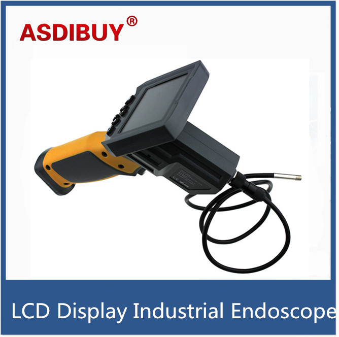 3.5 LCD display Screen 8mm Industry Camera Endoscope Borescope Inspection Camera 1M Flexible Cable 0.3MP 3.5inch TFT Screen