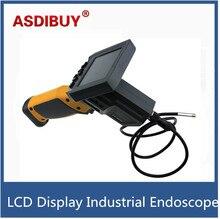 """3.5 """"pantalla LCD 8mm Industria 0.3MP Cámara Endoscopio Endoscopio Inspección Cámara 1 M Cable Flexible de 3.5 pulgadas Pantalla TFT"""