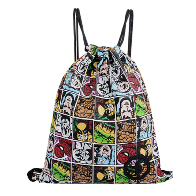 IVI 42 Centimeter Adult Size Cute Lovely Sac Pack Drawstring Backpack Newest Vintage College Students School