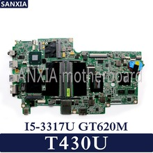 цена на KEFU Laptop motherboard for Lenovo Thinkpad T430U Test original mainboard I5-3317U/3337U GT620M