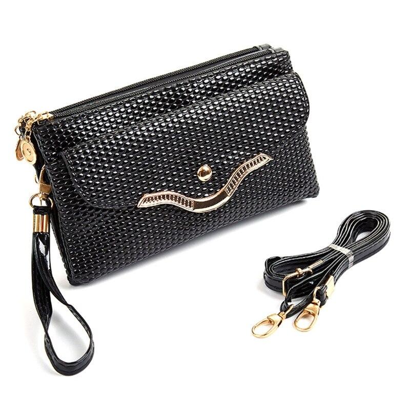 2018 Fashion Women Shoulder Bag Lady Tote Messenger Faux Leather Handbag Crossbody Bag Zip Snap Hot Sale New Small Elegant Bags