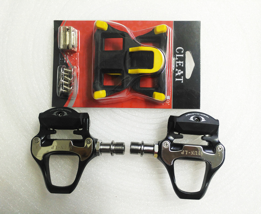light weight Titanium alloy SPD road bike clipless self locking pedal