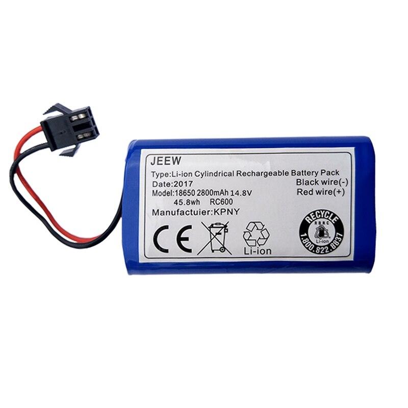2800 мАч чистый Аккумулятор для роботов пылесосов CEN360 CEN361 аккумуляторные батареи Для Ecovacs зеркальный пылесос сменный размер 36*36*68 мм