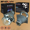 SINOLYN 3 0 Inch H7 HID Xenon Halogen Headlight Bi Xenon Projector Lens Q5 Metal LHD