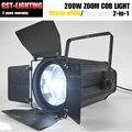 Зум COB LED 200 Вт профиль театральные точечные светильники для сцены dmx
