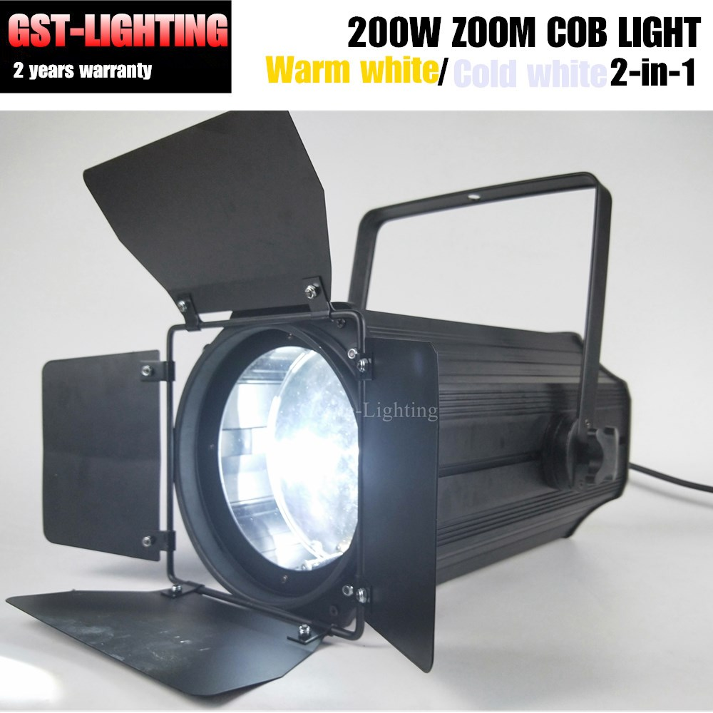 Zoom COB LED 200w Profile Theater Spot Lights For Stage Dmx