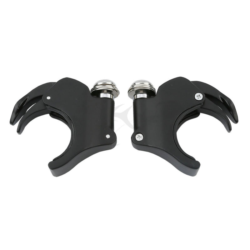 Motorcycle 49mm Windshield Clamp For Harley Dyna Street Fat Bob Super Wide Glide Sportster XL883 1200
