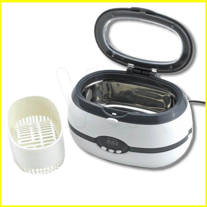 VGT-2000 ultrasonique de décapant de laboratoire dentaire de 600 ml avec l'affichage numérique