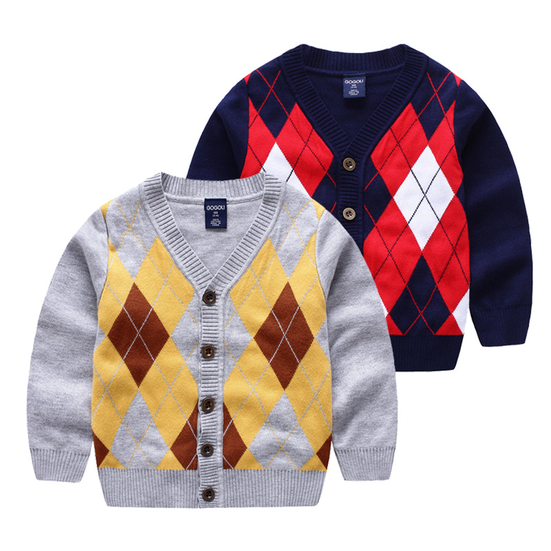 2016 new clothing for baby boys knitted sweater