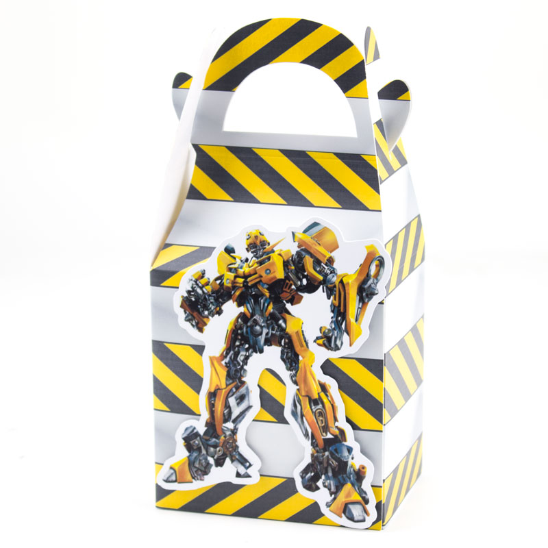 Bumblebee Favor Box Candy Box Gift Box Cupcake Box Kids Birthday Party Supplies Decoration Event Party Supplies