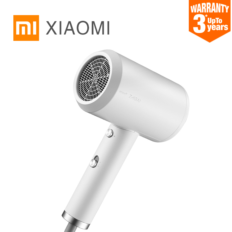 XIAOMI MIJIA ZHIBAI HL3 Anion Hair Dryer Water Negative Ion Home 1800W hair care Professinal Quick