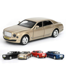 1/32 High-end MULSANNE FLYING SPUR Alloy Car Model Toy 6 Door Opened Metal Auto Diacast Car Model Children Toy For Collect Gifts(China)