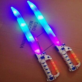 Espada Luminosoligeroled Creativo Juguete Láser Para Niños Al Aire Niñas Regalos Modelo Luminoso Arma Libre Destellante Lightsaber YWED2IH9