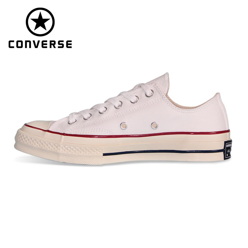 NEW Original Converse 1970S all star shoes Retro classic men women unisex sneakers 162065C Skateboarding Shoes red original converse all star men women shoes zombies walking dead custom design sneakers hand painted shoes man woman