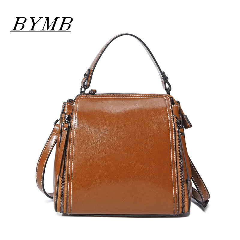 2017 Handbags  genuine leather bag Lady Top-handle bags handbags women famous brands female  shoulder bag Tote for girls 2pcs set vintage handbags women messenger bag female purse solid shoulder office lady casual tote genuine leather top handle bag