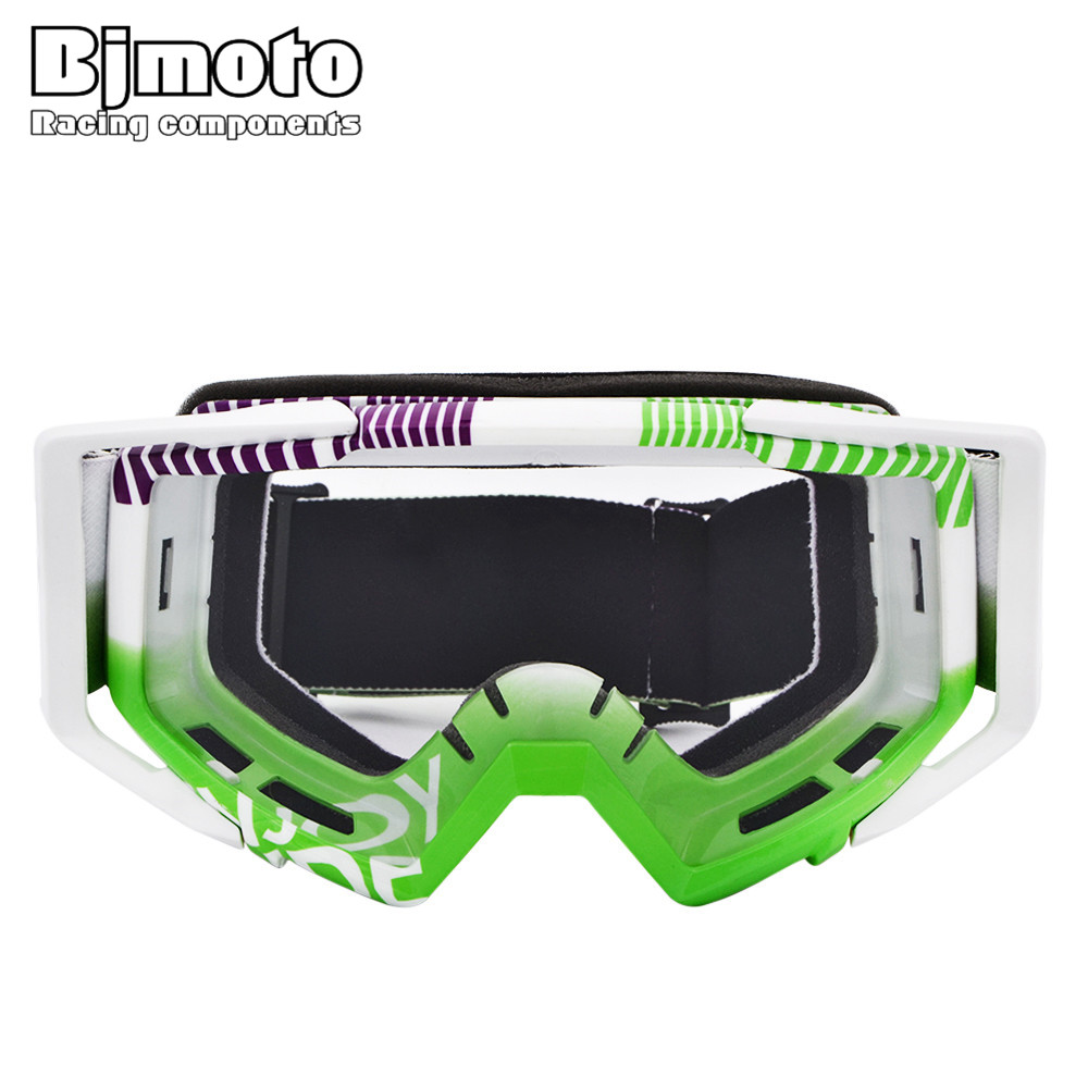 Bjmoto Free shipping helmet google goggles Motorbike Dirt Bike Motorcycle Vintage goggles glass Adult Motocross Goggles Glasses