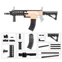 DIY игрушечный пистолет Запчасти 3D печать прочный Пластик Mod продлить баррель Наряжаться Наборы комбо 17 товаров для Nerf STRYFE изменить игрушки п