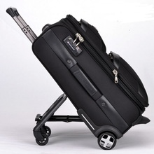 New Business Rolling luggage Trolley travel bag 20 inch Men women boarding box 24 inch Trunk