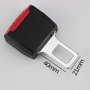 Image 4 - 1 Uds clip para cinturón de seguridad de coche cubierta Universal niños ajustable cinturón de seguridad extensor extensión hebilla de seguridad cinturón de seguridad titular de la tarjeta