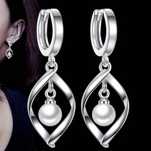 SHDEDE Statement Simulated Pearl Drop Earrings For Women Fashion Jewelry High Quality Stylish Accessories *+WHJ83 цена в Москве и Питере