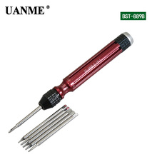 UANME 1Piece 6 in 1 Magnetic Screwdriver For iPhone 7 Repair Tools 2.0 Y Tip 1.2 5-Point T2 T5 T6 1.5 Phillips Cross