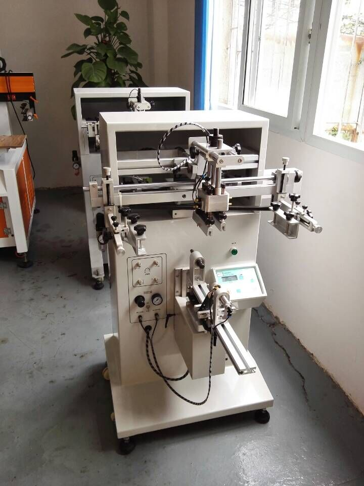 Automatic Screen Printing Machine For Plastic Bottles,bottles Screen Printing Machine