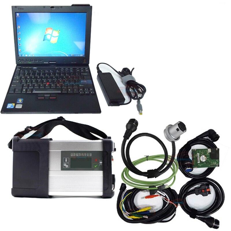 2019 Top-bewertet Mb Star C5 Sd Verbinden Mit Laptop X200t Diagnose Pc Mit Mb Star C5 Neueste Software Sd Verbinden C5 V2019.05 Hdd Der Preis Bleibt Stabil