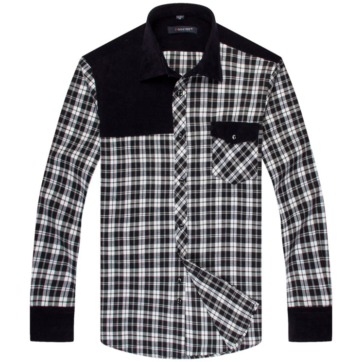 Mens Fitted Flannel Shirts