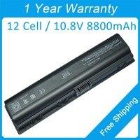 New 12 cell laptop battery for compaq Presario V6600 V6200 A900 VE06 EV088AA EX941AA NBP6A48A1 HSTNN OB31 436281 361 432307 001