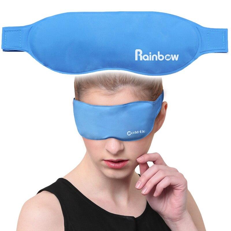Gel Augen Maske Auge Pflege Kalten Pack Eis Pack Physikalische Kühlung & Antipyretics Gesundheit Beseitigung Ermüdung der Augen, hot & Cold Schlaf Masken