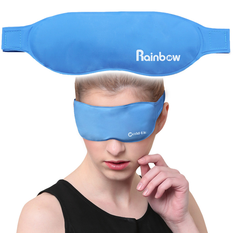 Smart Gel Eye Mask Eye Care Cold Pack Ice Pack Physical Cooling & Antipyretics Health Elimination Eye Fatigue,hot & Cold Sleep Masks To Enjoy High Reputation At Home And Abroad Skin Care Tool Face Skin Care Tools