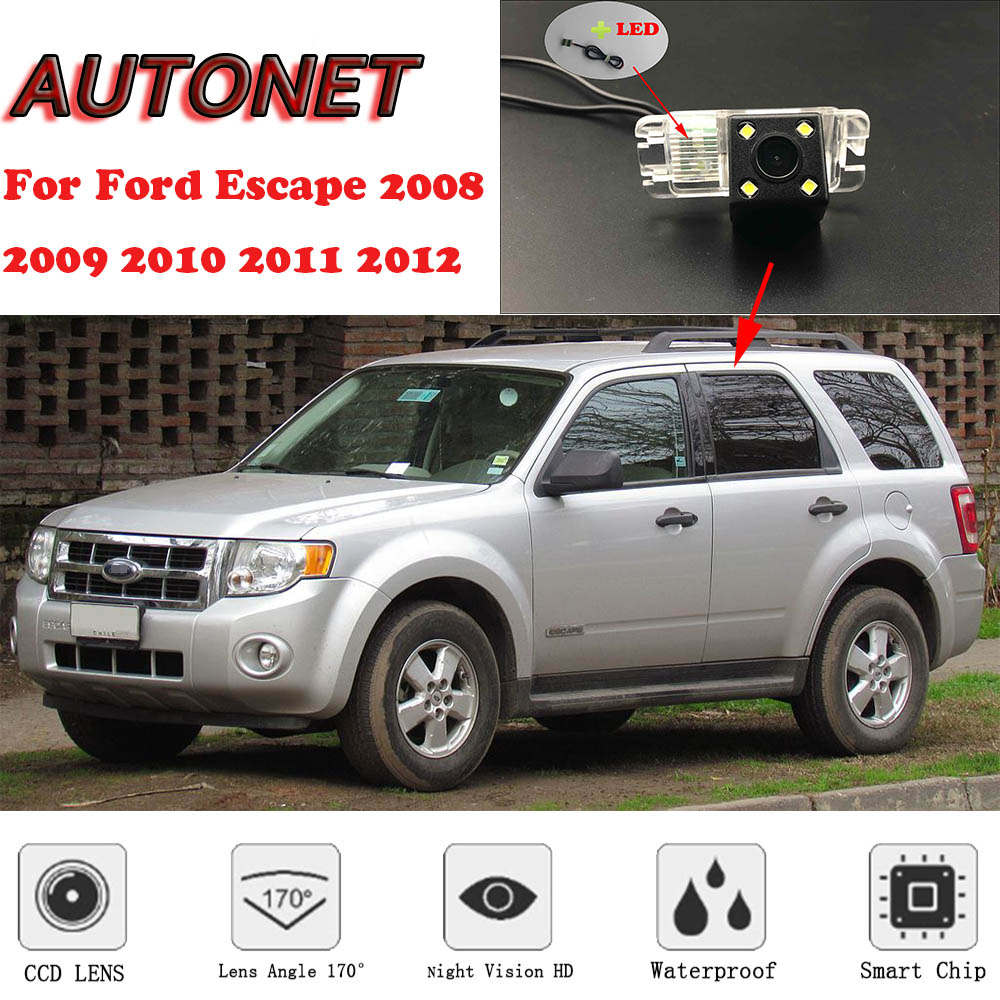 AUTONET Backup Rear View Camera For Ford Escape 2008 2009 2010 2011 2012 Night Vision/parking Camera Or Bracket
