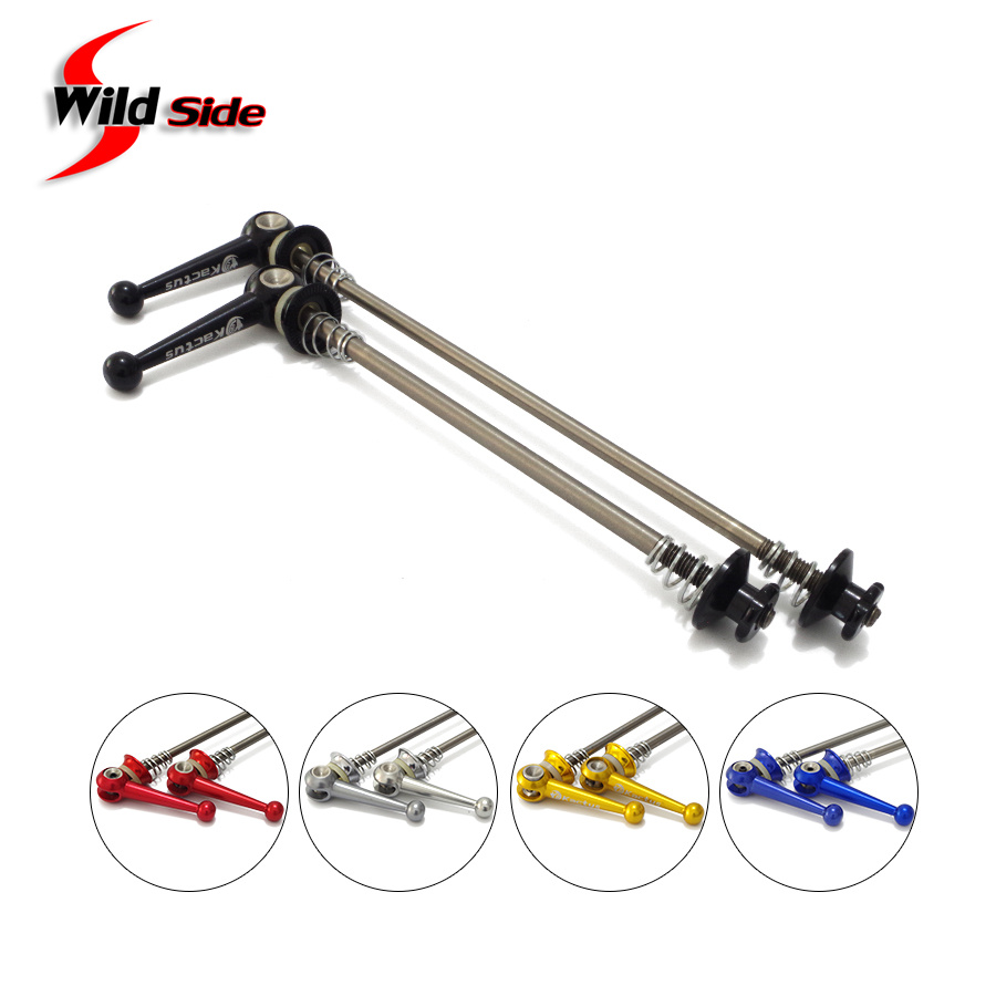 55g Black Titanium quick release Road MTB Bike Cycling wheel skewer axle