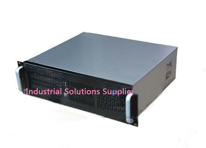 New Ultra-Short 3U Computer Case 38cm 8 Hard Drive Pc Large-Panel Atx Power Supply 3U Server Industrial Computer Case