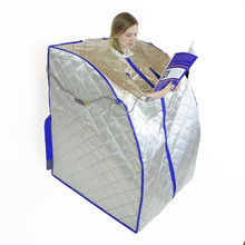 Infrared Sauna Spa Slimming  Negative Ion Detox Therapy Personal Portable Far Fir Folding Chair Cabin Room Heater